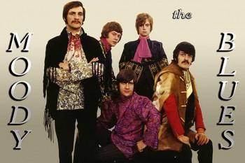 313. Постер: the Moody Blues - британская рок-группа, ставшая одним из пионеров прогрессивного рока