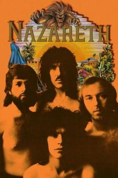 316-2. Постер: Nazareth, коллаж с обложкой альбома Rampant