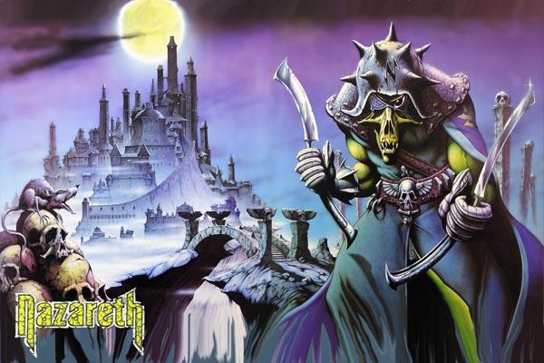 "317-2. Постер: Nazareth, обложка альбома ""No Mean City"""