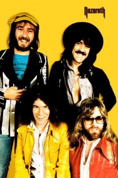 317. Постер: Nazareth - классика в жанре hard-rock