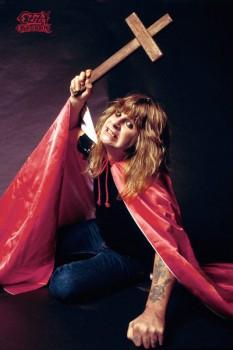 319. Постер: Ozzy Osbourne, британский певец, один из основателей и участник золотого состава группы Black Sabbath