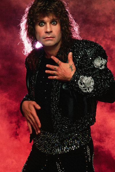 320. Постер: Ozzy Osbourne, начавший сольную карьеру в 1980 году