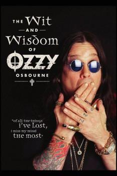 327. Постер: Ozzy принимает участие в съемках рекламы