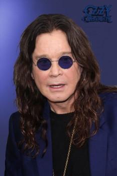 332. постер: Ozzy Osbourne на синем