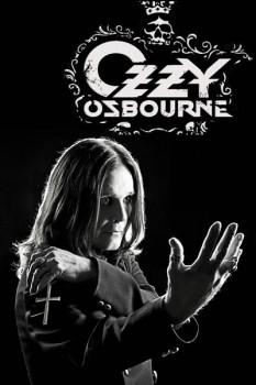 336. Постер: Ozzy Osbourne на черном
