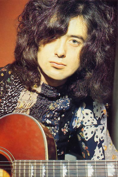 337. Постер: Jimmy Page - английский рок-музыкант, аранжировщик, композитор, музыкальный продюсер и виртуозный гитарист