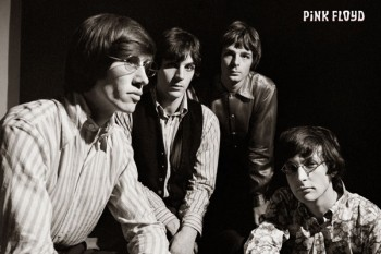 339. Постер: Pink Floyd в в начале творческого пути