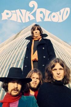 341-2. Постер: Pink Floyd, фото на фоне небоскреба