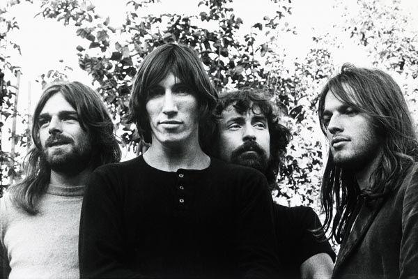 343. Постер: Pink Floyd в период пика творчества