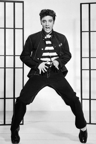 353. Постер: Elvis Presley - король жанра Rock and Roll