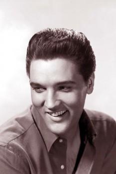 354. Постер: Черно-белый портрет - Elvis Presley