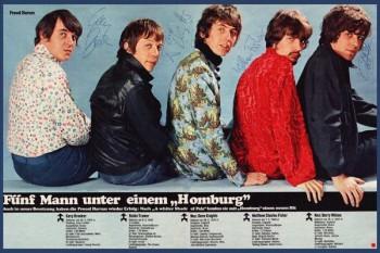358. Постер: Procol Harum - британская прогрессивная рок-группа