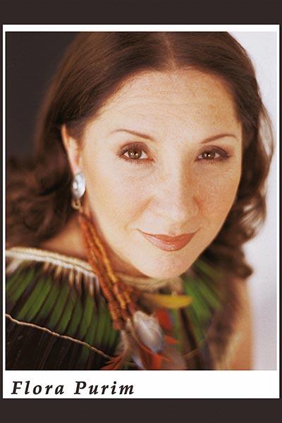 359. Постер: Flora Purim - бразильская джазовая певица, известная за свою работу в стиле Jazz Fusion