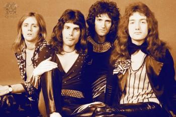 365. Постер: Queen. Великая британская рок-группа