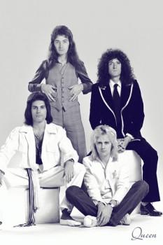 367. Постер: Queen в 1976 году