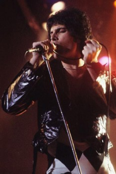 372. Постер: Freddie Mercury в 1978