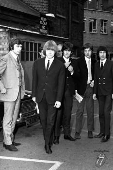 376. Постер: the Rolling Stones в Лондоне в 1965