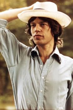 382. Постер: Mick Jagger, начало 70-х
