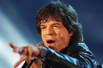 384. Постер: британская рок-звезда Mick Jagger, во время выступления в немецком телевизионном шоу