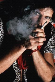 385. Постер: Keith Richards, гитарист британской рок-н-ролльной группы, the Rolling Stones в 1981