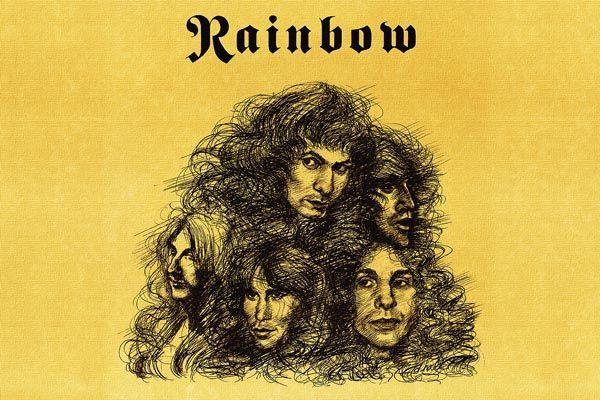 "386. Постер: Rainbow, ""Long Live Rock n Roll"""