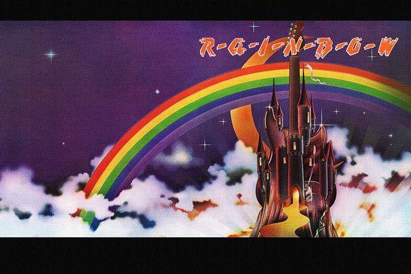 387. Постер: Rainbow, Радуга Ritchie Blackmore's
