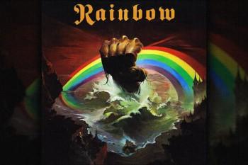 "388. Постер: Rainbow, с легендарного альбома ""Rising"""