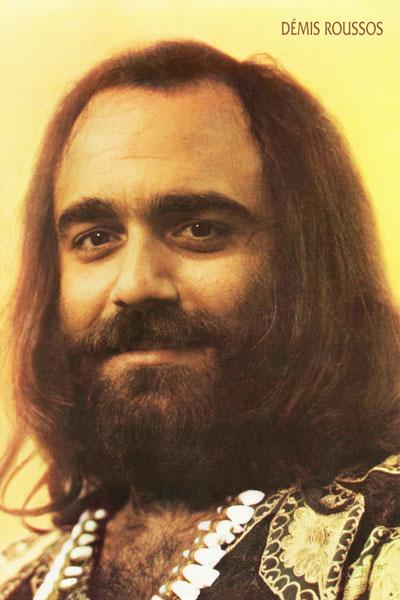 390. Постер: Demis Roussos - очень популярный в 70-е греческий певец