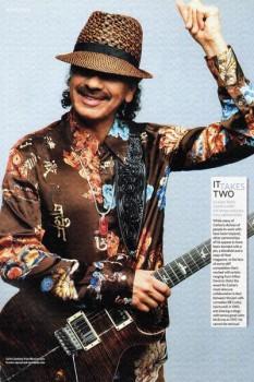 394. Постер: Лауреат многочисленных премий «Грэмми», гитарист - Carlos Santana