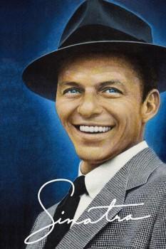 399. Постер: Frank Sinatra. Американский шоумен, певец и актёр