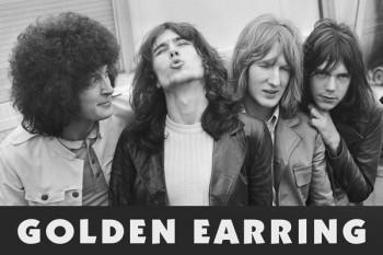 401. Постер: Golden-Earring, голландская рок группа с элементами прогрессива