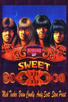 404. Постер: Sweet - британская рок-группа, образовавшаяся в Лондоне в 1968 г.