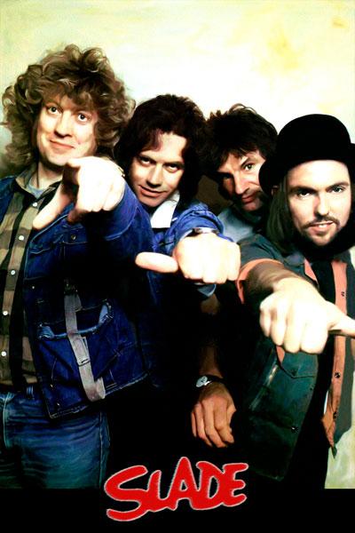 407. Постер: Slade - британская рок-группа, одна из лидеров стиля Glam rock