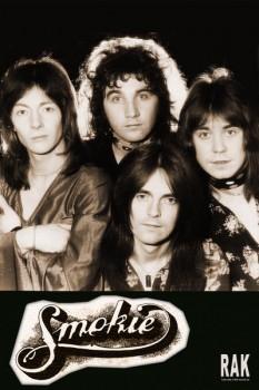 408-2. Постер: Smokie - популярный в 70-е годы квартет из Бредфорда
