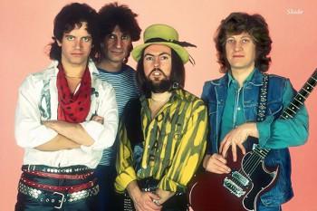 408-2. Постер: группа Slade в 1975 году