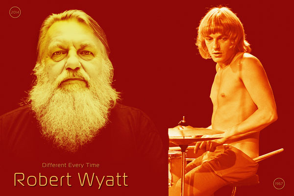 409. Постер: Robert Wyatt - британский музыкант, один из создателей влиятельной прогрессивной группы Soft Machine