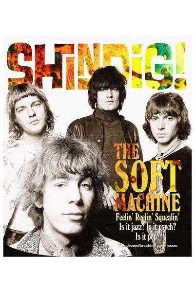 410. Постер: британская группа The Soft Machine