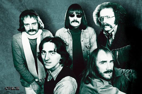 411. Постер: группа Soft Machine, от психоделии к фьюжну