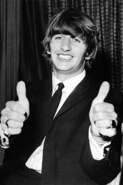 413. Постер: Ringo Starr - британский музыкант, автор песен и актёр