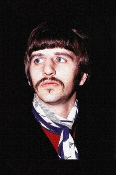 414. Постер: барабанщик группы the Beatles - Ringo Starr