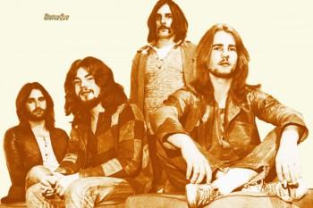415. Постер: Status Quo - известная британская рок-группа в 1970 году