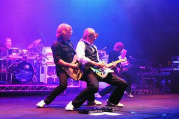 416. Постер: Легенда английского ритмичного рок-н-ролла - группа Status Quo