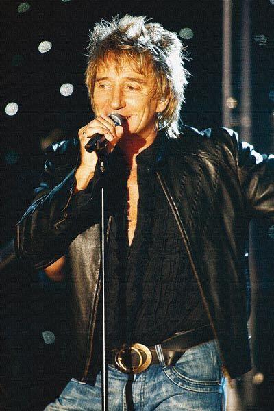 418. Постер: Rod Stewart - вошел в сотню величайших певцов всех времен
