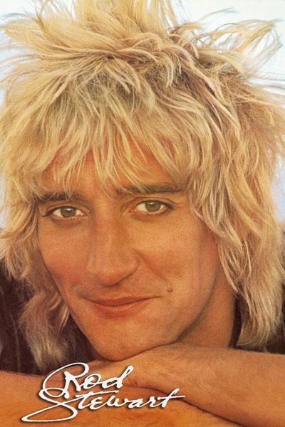 420. Постер: Rod Stewart в 1978 году