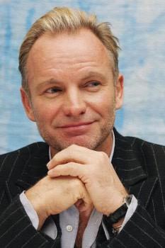 424. Постер: Sting - британский рок-музыкант и актёр