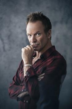 425. Постер: Легенда британского рока - Sting