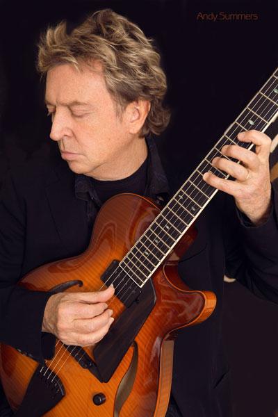 426-2. Постер: Andy Summers - британский гитарист и композитор, известный по своей работе в группе The Police