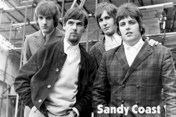 427. Постер: Sandy Coast - очень популярная в конце 60-х - начале 70-х голландская группа