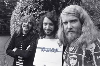 428. Постер: Trace - культовая голландская группа прогрессивного рока в 1974 году