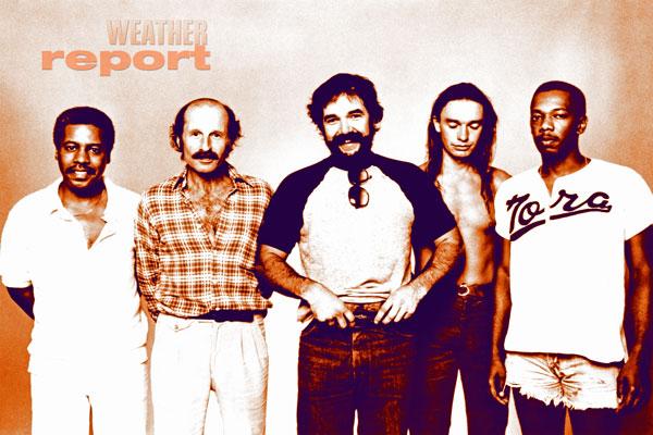 430. Постер: Weather Report - одна из выдающихся джазовых фьюжн-групп 70-х, начала 80-х годов